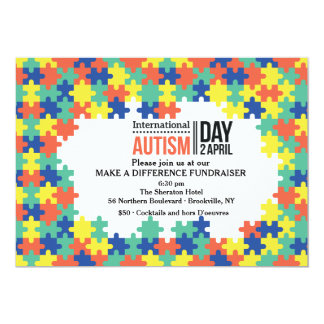 International Autism Day Invitation