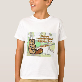 International Beaver Day April 7 T-Shirt