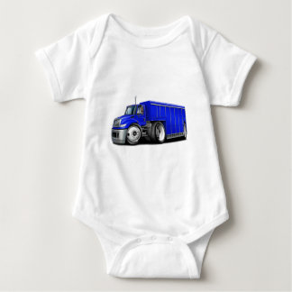 International Blue Delivery Truck.png Baby Bodysuit