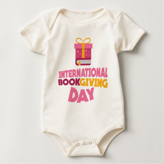 International Book Giving Day - 14th February Baby Bodysuit
