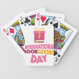 International Book Giving Day - 14th February Bicycle Playing Cards