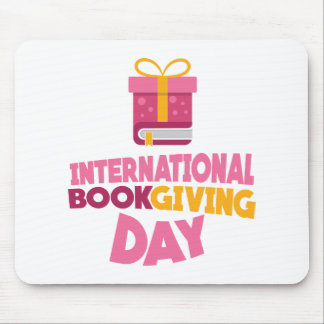 International Book Giving Day - 14th February Mouse Pad
