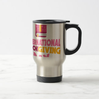 International Book Giving Day - 14th February Travel Mug