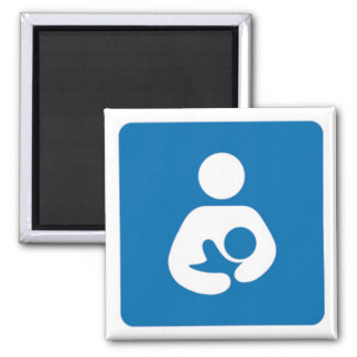 international breastfeeding symbol magnet