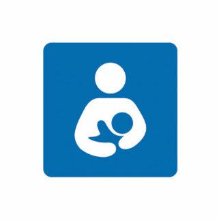 international breastfeeding symbol cut out