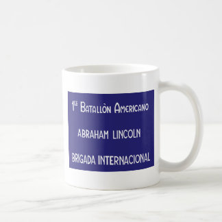 International Brigades Abraham Lincoln 1st Coffee Mug