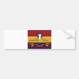 International Brigades Bumper Sticker