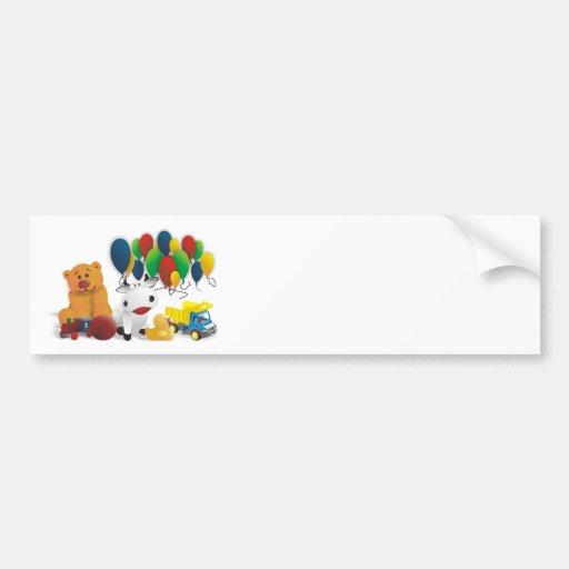 International children's day bumper stickers