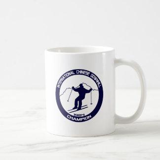 International Chinese Downhill Champion 1984 Coffee Mug