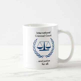 International Criminal Court Series Coffee Mug