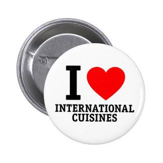 International Cuisine Buttons