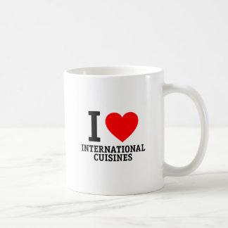International Cuisine Coffee Mugs