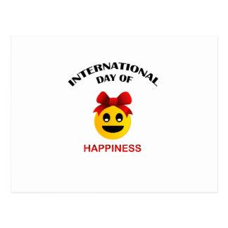 International Day of Happiness Postcard