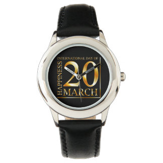 International Day of Happiness Wristwatches