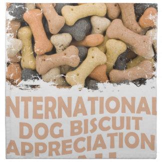 International Dog Biscuit Appreciation Day 1 Napkin
