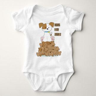 International Dog Biscuit Appreciation Day Baby Bodysuit