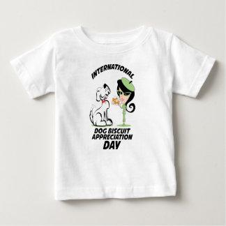 International Dog Biscuit Appreciation Day Baby T-Shirt