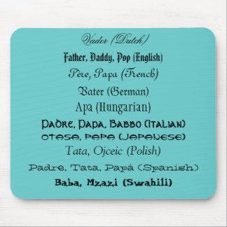 International Fathers - mousepad