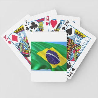 International Flag Brazil Bicycle Playing Cards