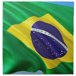 International Flag Brazil Napkin
