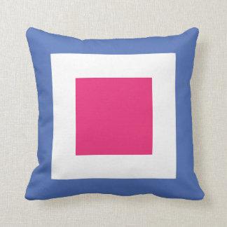International Flag Code pillow- Letter W (Whiskey) Cushion