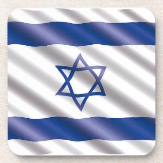 International Flag Israel Coaster