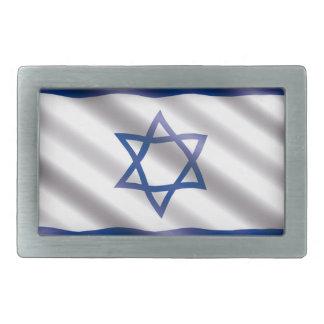 International Flag Israel Rectangular Belt Buckles