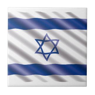 International Flag Israel Tile