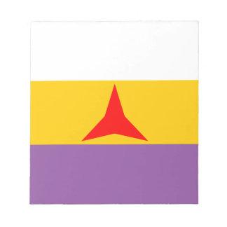 international Flag Notepad