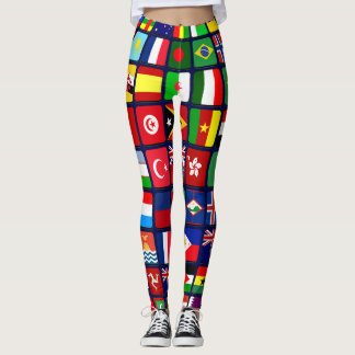 International Flags Leggings