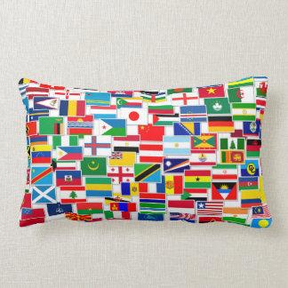 International Flags Pattern Pillows