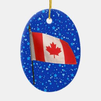 International Flags - SRF Ceramic Oval Decoration
