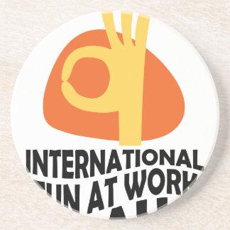 International Fun At Work Day - Appreciation Day Coaster