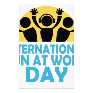 International Fun At Work Day - Appreciation Day Stationery