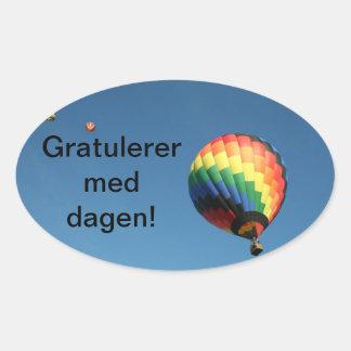 International Happy Birthday!  Customize Language! Stickers