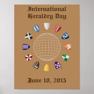 International Heraldry Day 2015 Poster