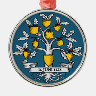 International Heraldry Day Metal Ornament