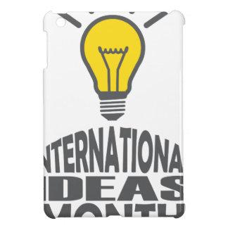 International Ideas Month - Appreciation Day iPad Mini Cover