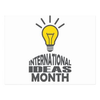 International Ideas Month - Appreciation Day Postcard