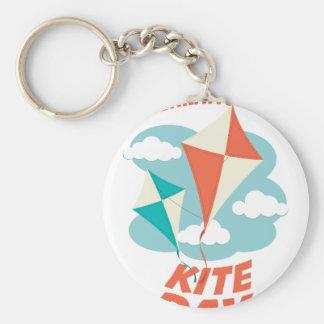 International Kite Day - Appreciation Day Key Ring