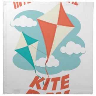 International Kite Day - Appreciation Day Napkin