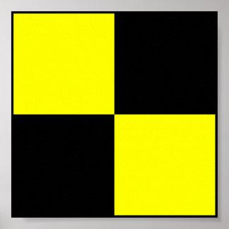 International maritime signal flag letter nautical poster