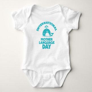 International Mother Language Day - 21st February Baby Bodysuit