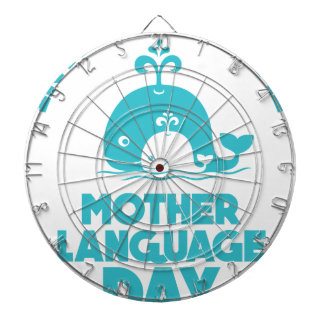 International Mother Language Day - 21st February Dart Boards