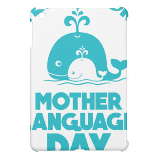 International Mother Language Day - 21st February iPad Mini Case