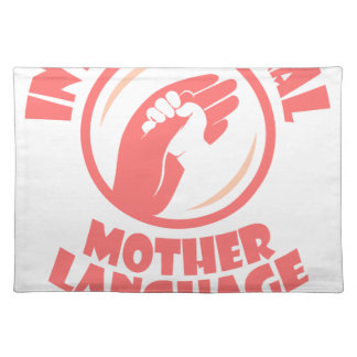 International Mother Language Day - 21st February Placemat