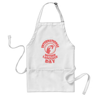 International Mother Language Day - 21st February Standard Apron