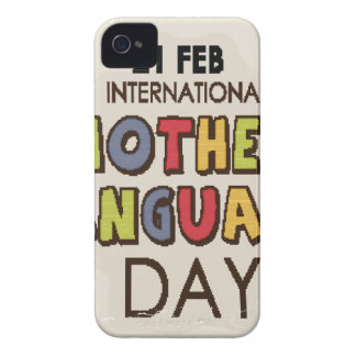 International Mother Language Day-Appreciation Day Case-Mate iPhone 4 Cases