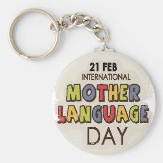 International Mother Language Day-Appreciation Day Key Ring