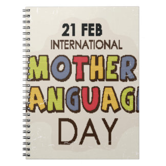 International Mother Language Day-Appreciation Day Note Books